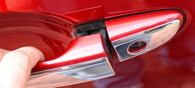 Mazda handle