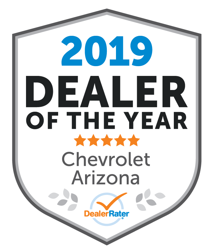2019 Dealer of the Year Award from DealerRater.com