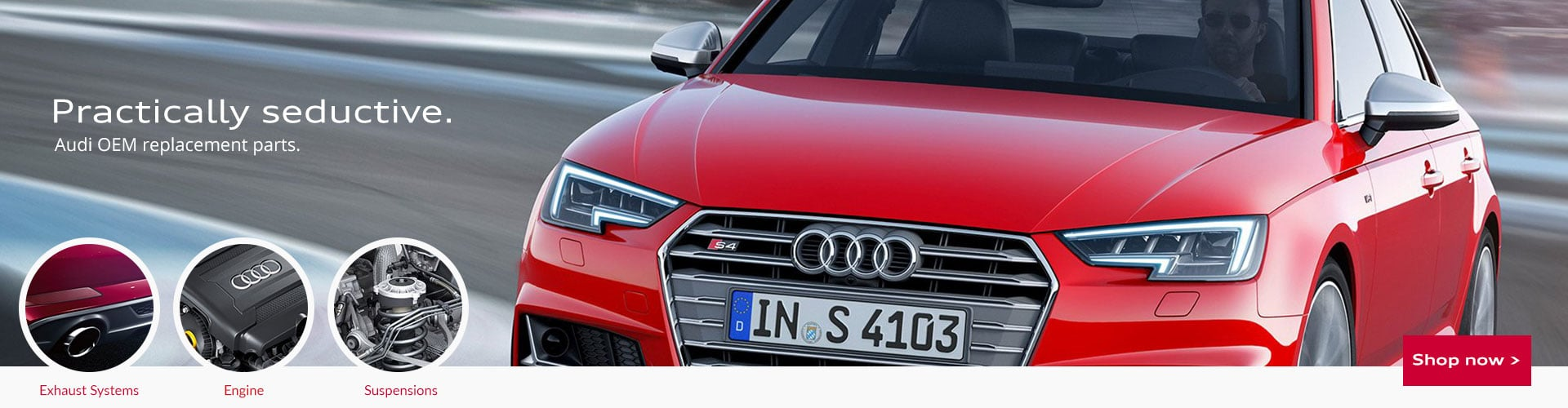 My Audi Parts Now Banner 1