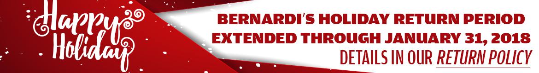 Bernardi Extended Holiday Return