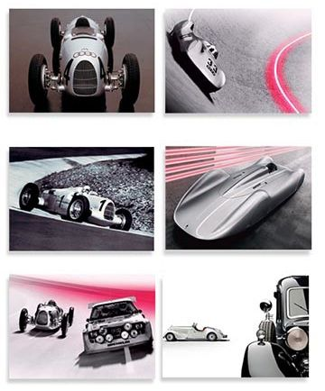 Audi Heritage Postcards