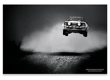 Audi Heritage Poster