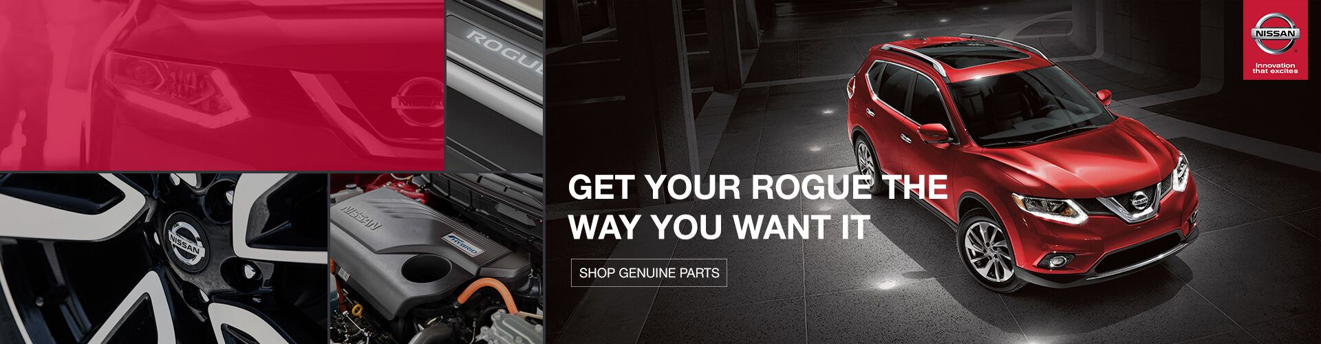 Genuine Nissan Rogue Parts