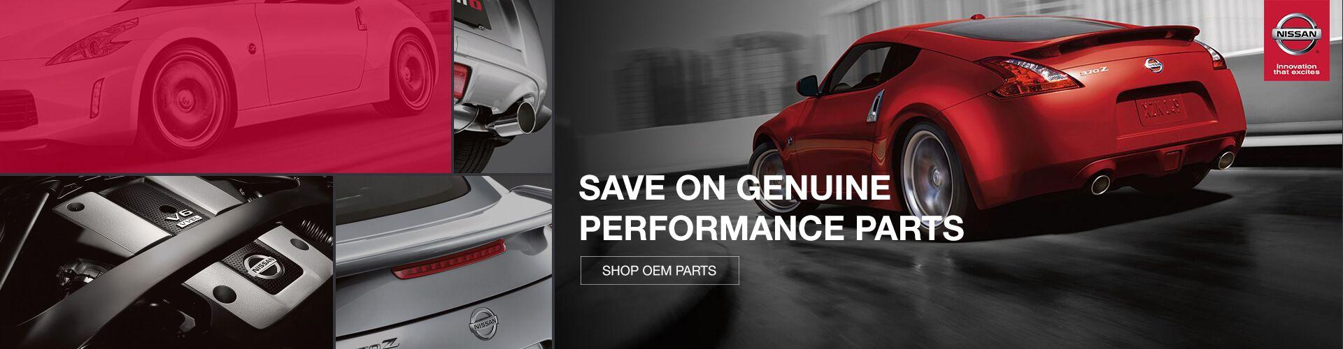 Nissan OEM Performance Parts