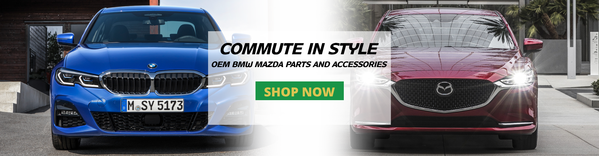 Genuine BMW Mazda Parts and Accessories