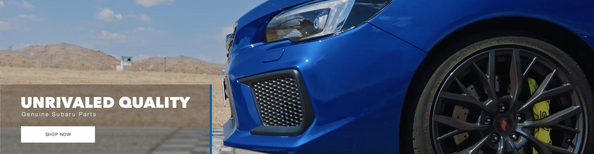 Buy Genuine Subaru Parts Now