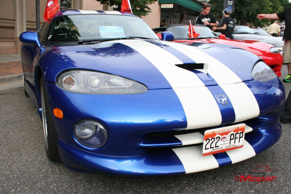Blue 96 Viper GTS