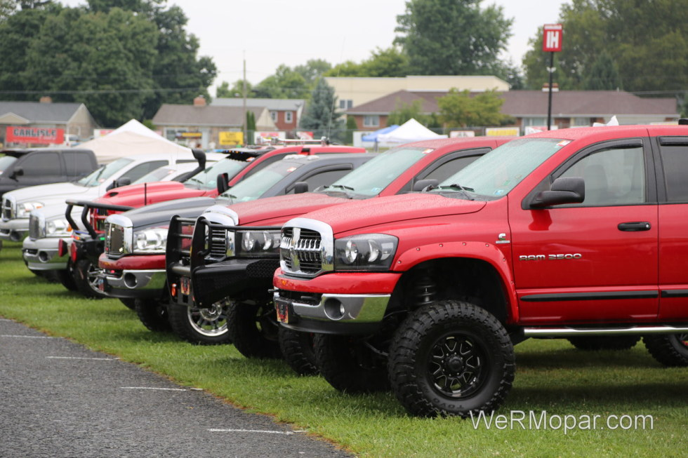 Dodge Ram Trucks at the Carlisle