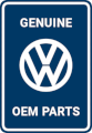 Genuine VW OEM Parts