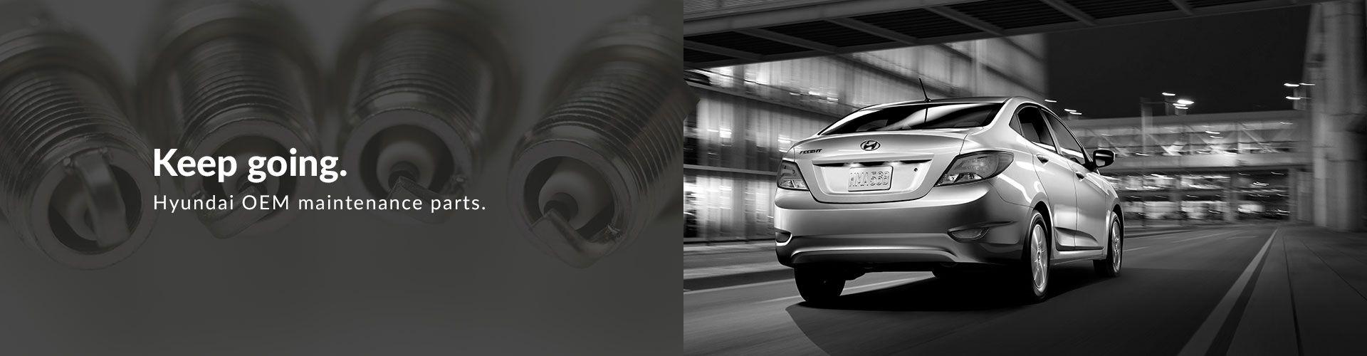 Hyundai OEM Maintenance Parts