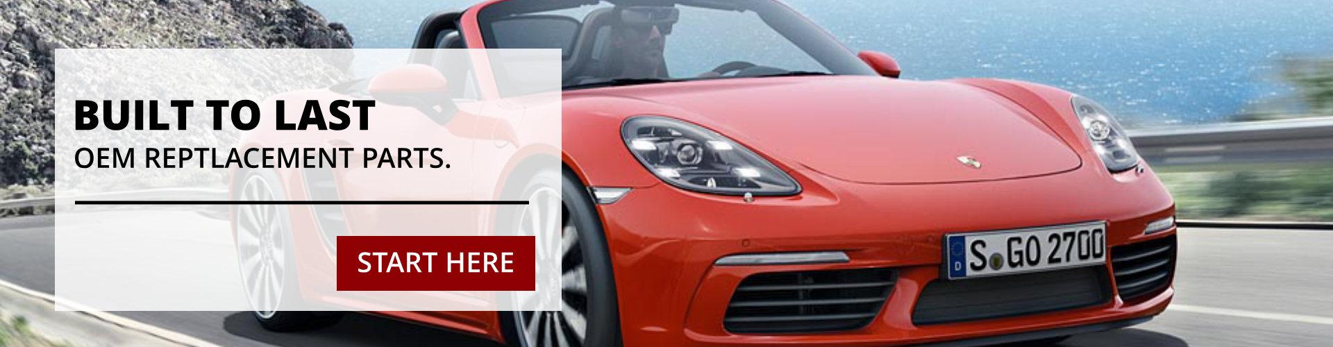 Porsche OEM Replacement Parts and Accessories