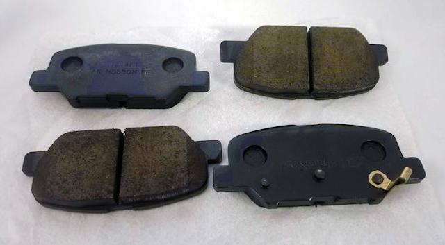 Brake pads set