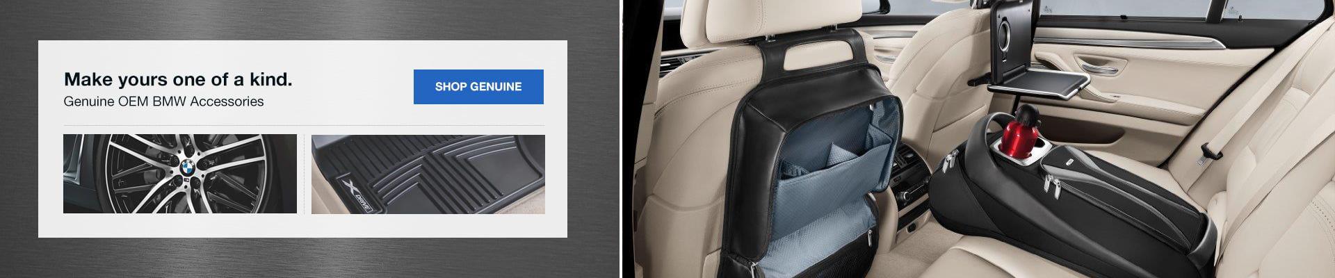 Genuine BMW Parts & Accessories