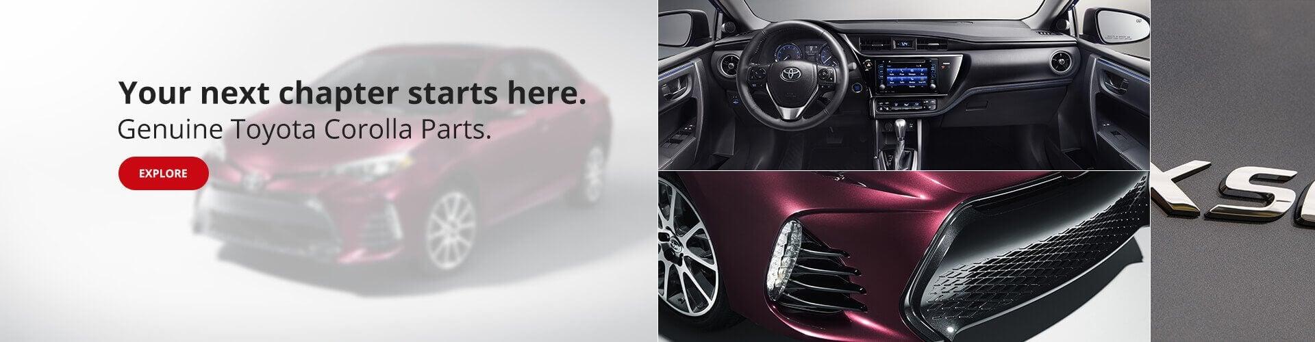 OEM Corolla Parts