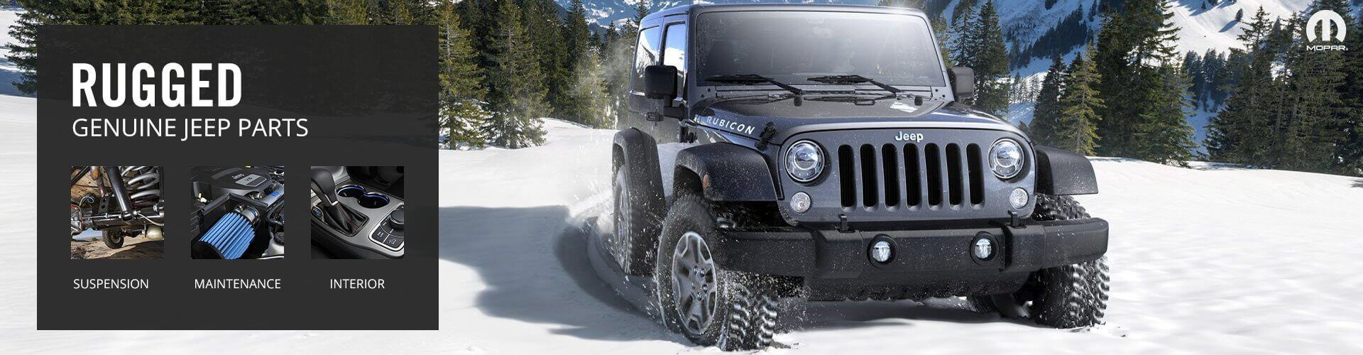 Genuine Jeep Parts and Accessories