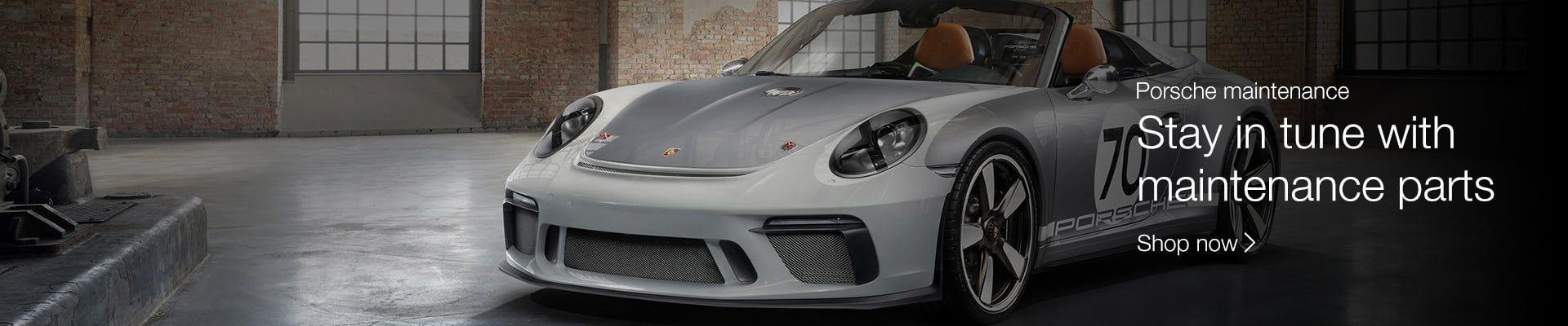 Porsche Maintenance Parts