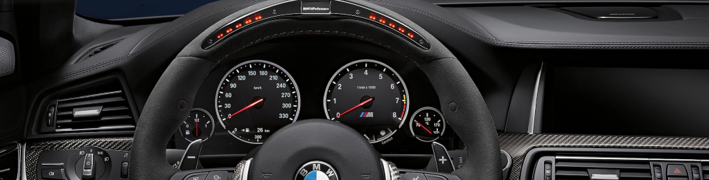M Performance Steering Wheels