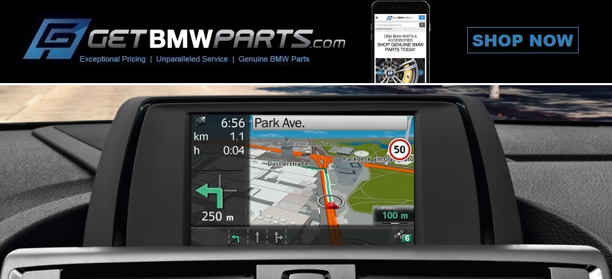 Getbmwparts Com Genuine Bmw 2019 Navigation Map Update