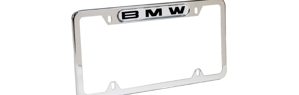 BMW License Plate Frames