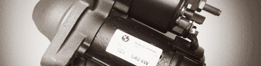 NEW STARTER BMW 530 540 740 840 SERIES ALPINA M5 X5 Z8 12-41-1-729-981