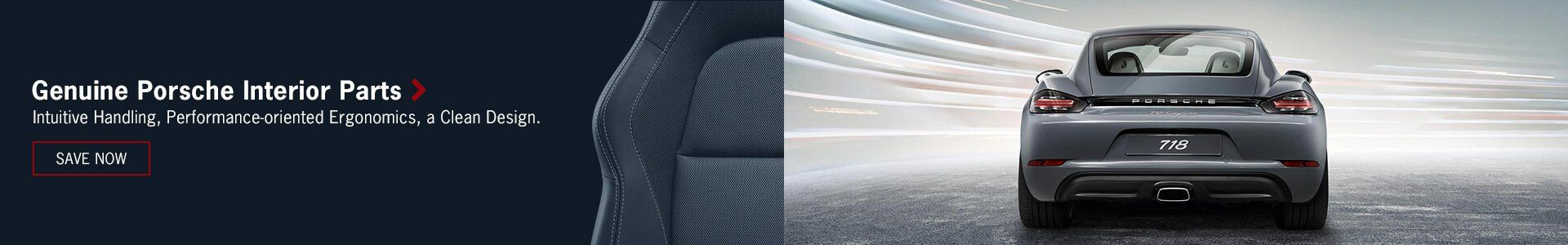 Genuine Porsche Interior Parts and Accessories