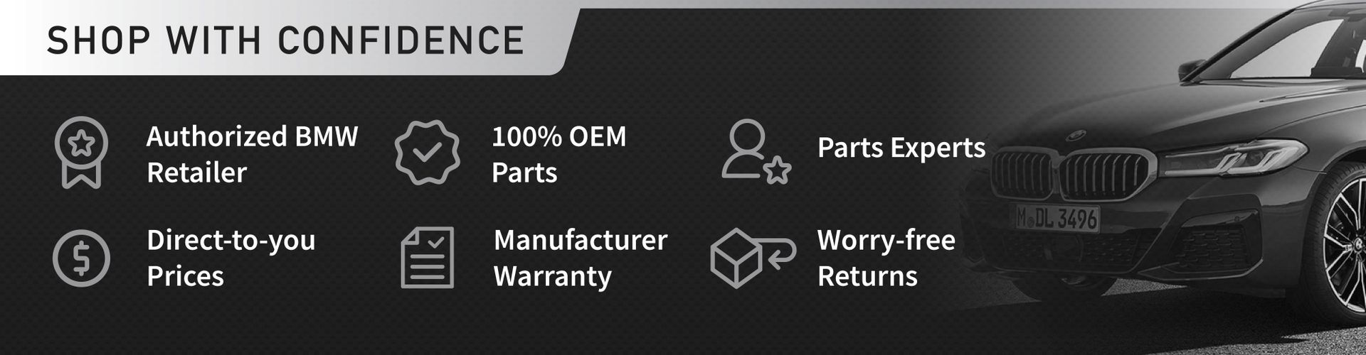OEM BMW Parts and Accessories for sale
