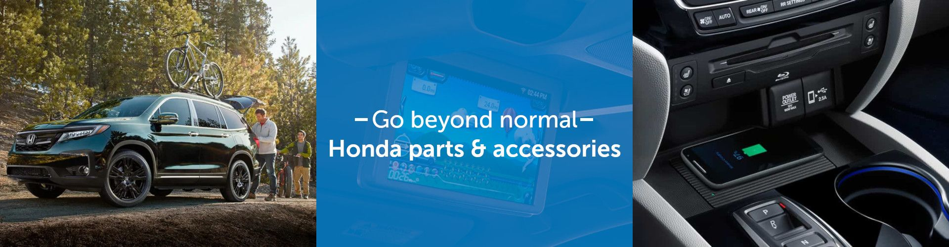 Honda Parts and Accessories