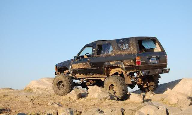 Lifted 1st generation 4runner