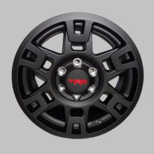 17 Inch Matte Black TRD Alloy Wheel