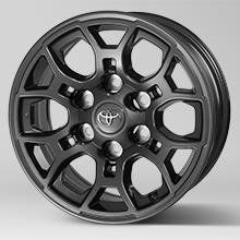 16 Inch Dark Anthracite Alloy Wheel