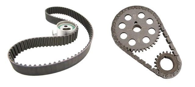Timing belt timing chain
