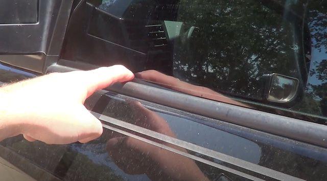 Toyota belt molding