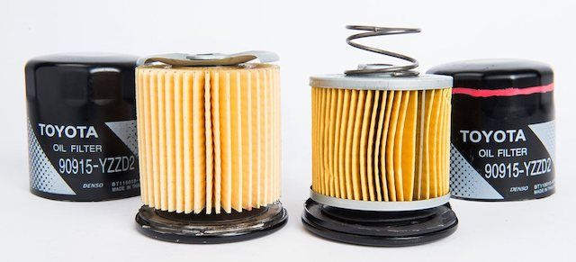 oil filter components