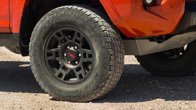 Toyota TRD wheels