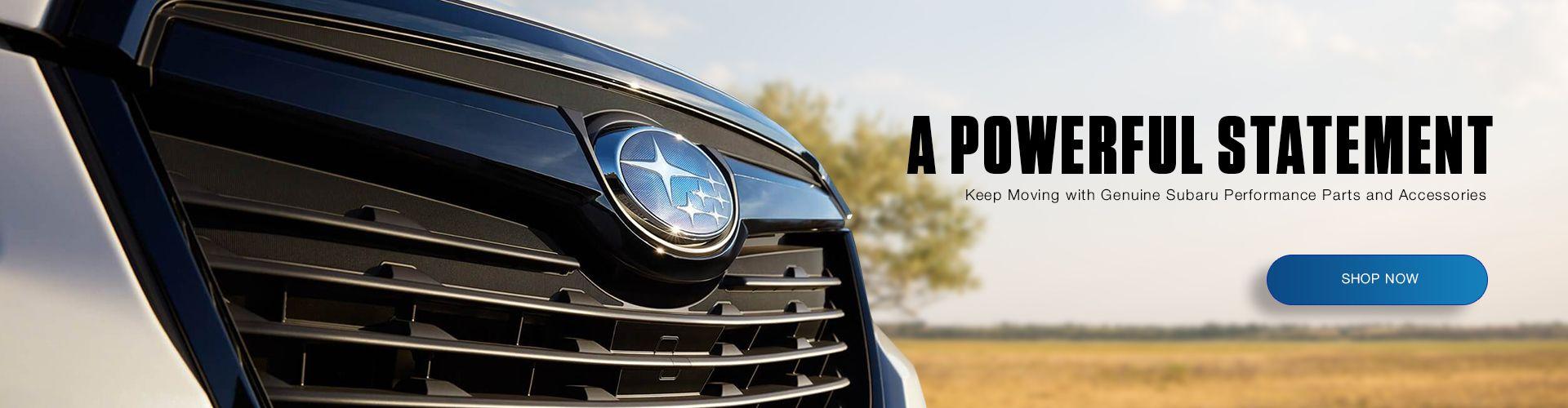 Shop Genuine Subaru Parts and Accessories