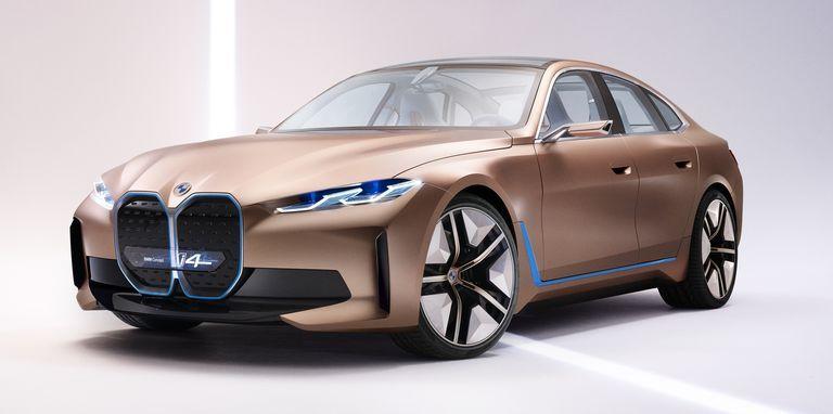 BMW i4 electric concept car