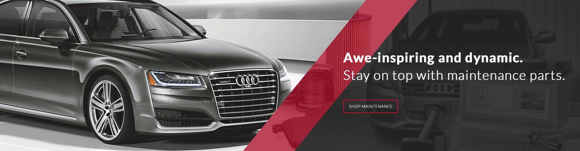 Audi maintenance parts