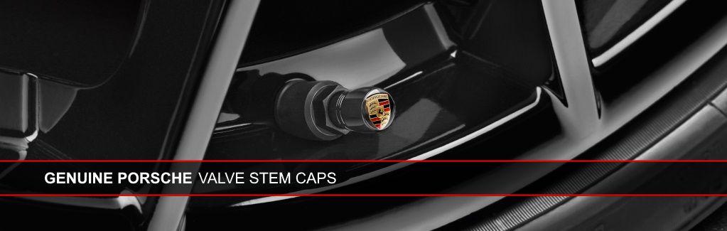 Porsche Valve Stem Caps