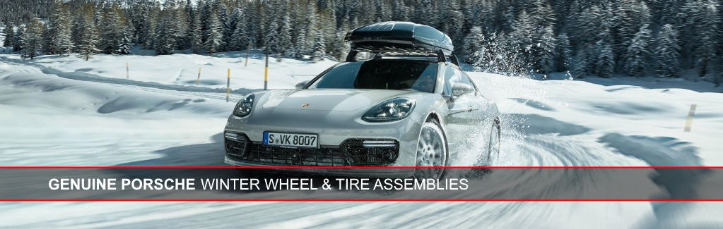 Genuine Porsche Winter Wheel & Tire Assemblies