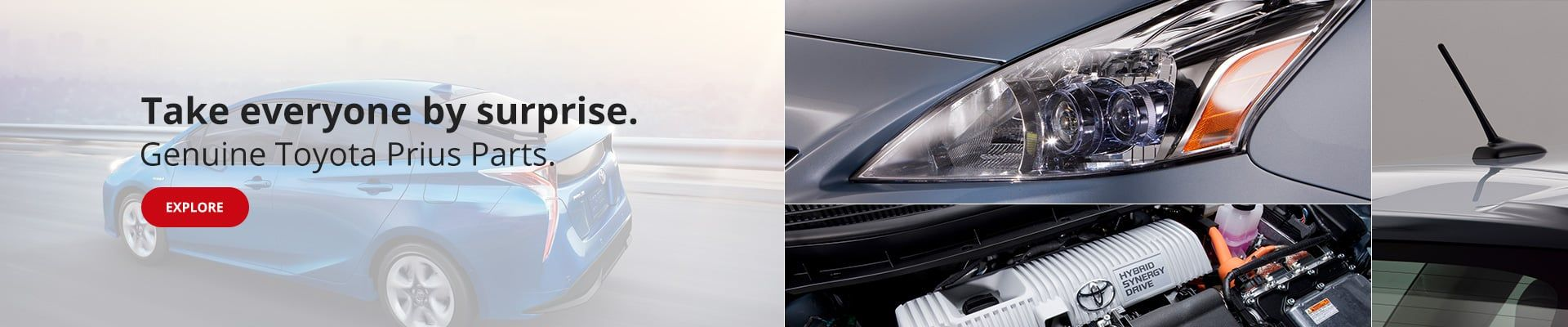 OEM Toyota Prius Parts