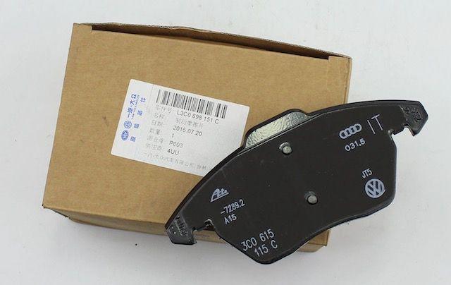 OEM VW pads3