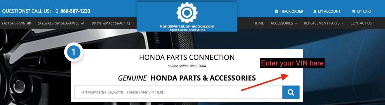 Honda VIN Lookup