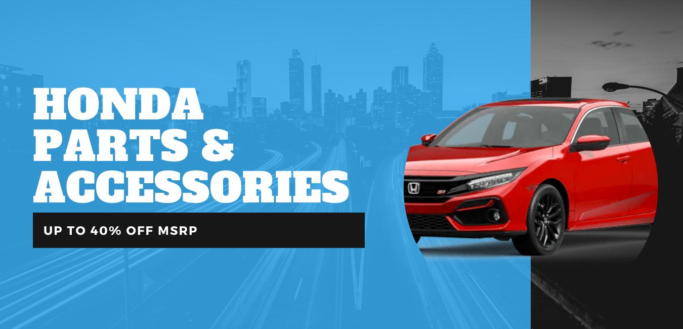 Popular genuine OEM Honda parts & accessories online