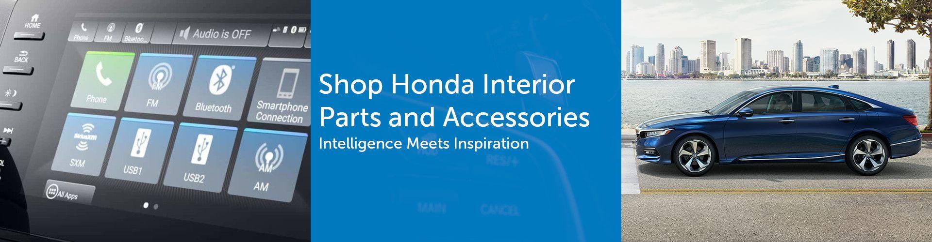 Genuine Honda Interior Parts & Accessories