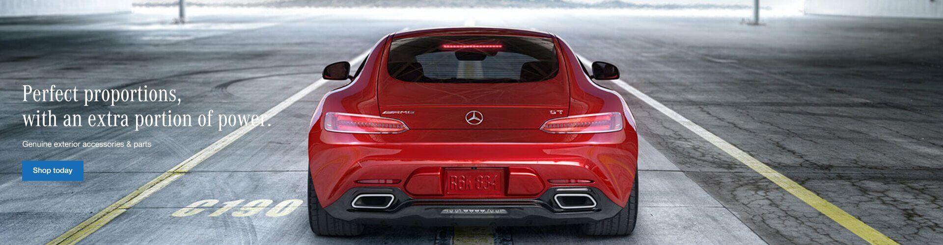Genuine Mercedes-Benz Exterior Accessories