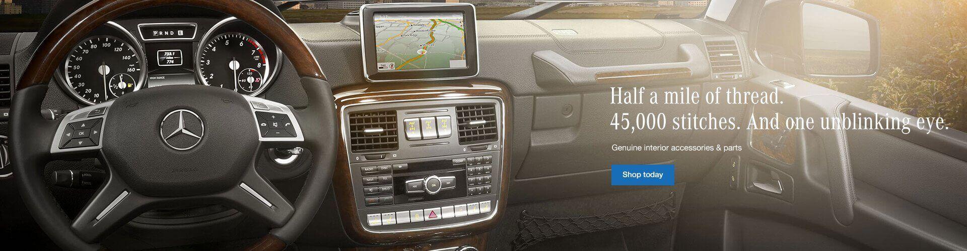 Genuine Mercedes-Benz Interior Accessories and Parts