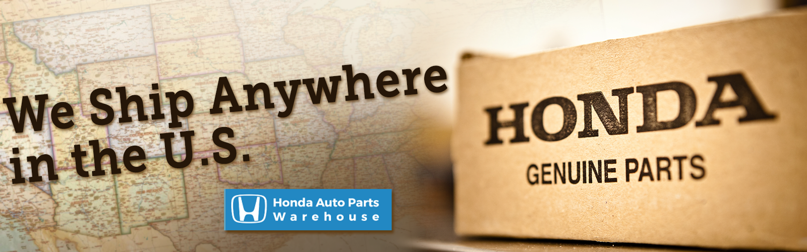 Honda Auto Parts Warehouse Banner 2