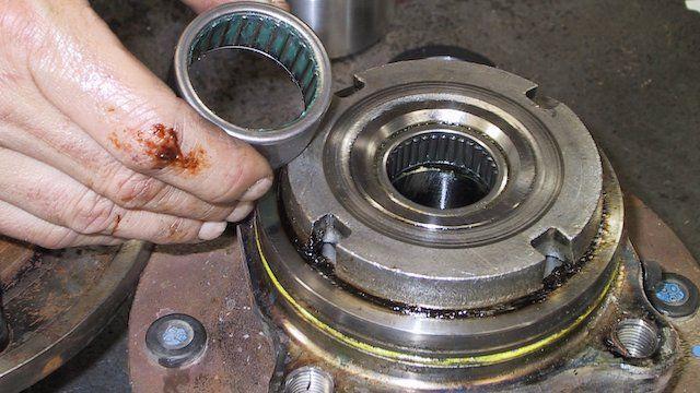 Replacing ford wheel bearing