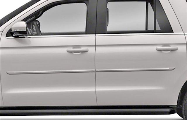 Ford door moldings