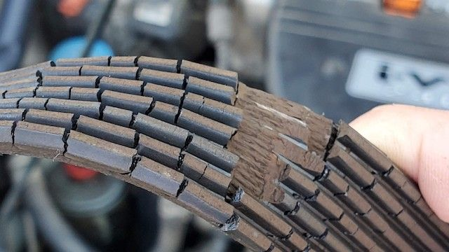 failed serpentine belt